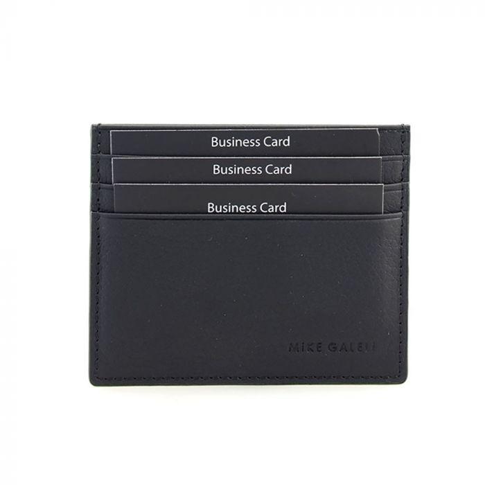 Kreditkarten-Etui aus Leder mit 6 Fächern