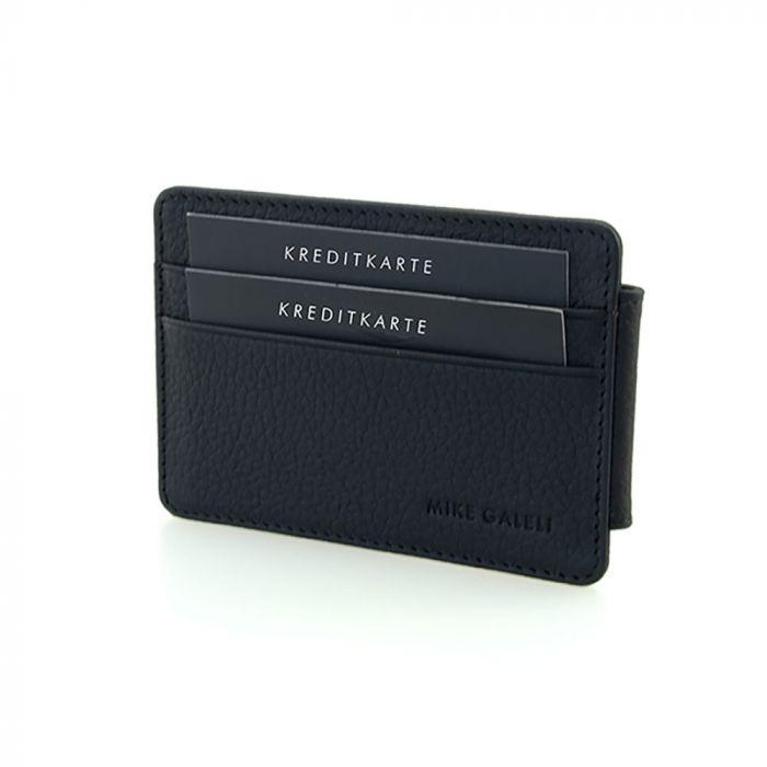 Kreditkarten-Etui mit magnetischer Geldscheinklammer